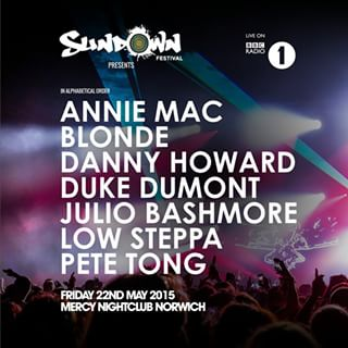Pete Tong - Sundown Festival (22.05.2015)